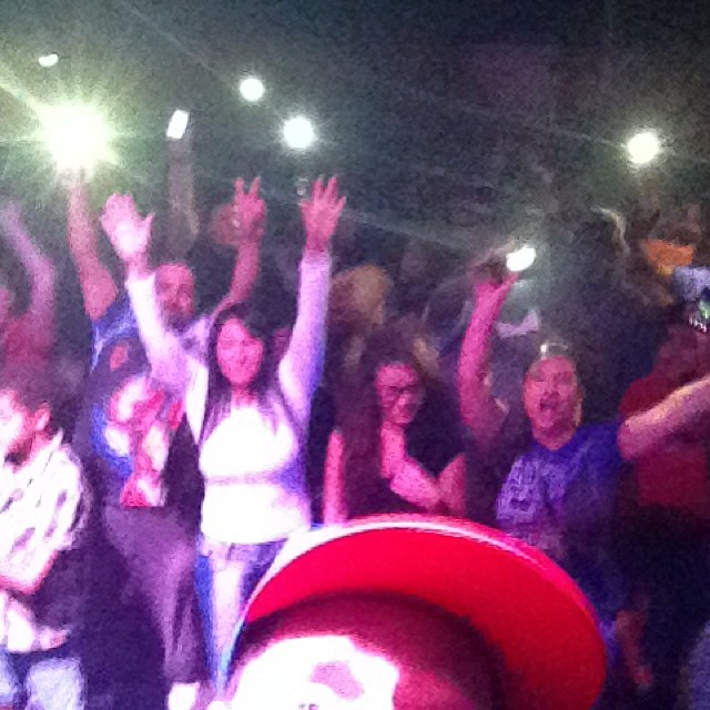 Thanks Fort Myers for showing up sorry I had to leave I got to put my kid to bed!