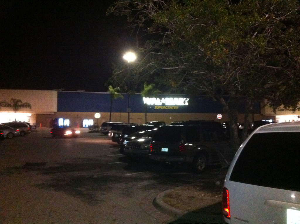 Does anyone else slightly fear for ya life shopping @ Walmart after 9pm? I might need to come strapped next time..