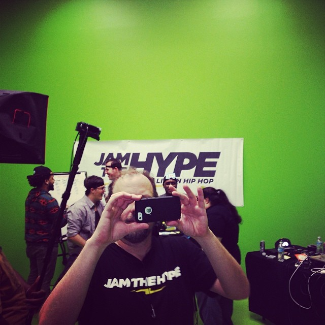 1.5 hrs to go to break the record! Www.jamthehype.com!