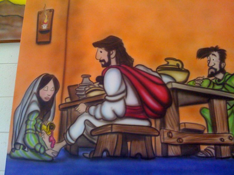 I guess my? Is would jesus really have a mullet? See pic and comment..