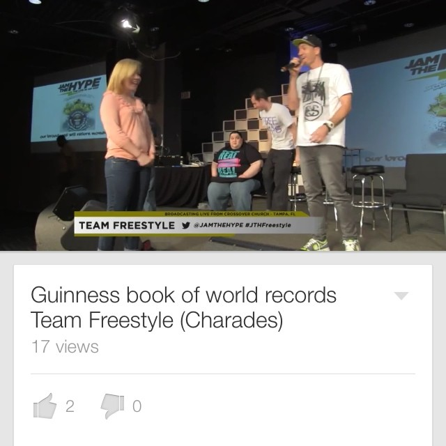 Check out 1 hour of freestyle charades right here.. http://youtu.be/3tXhchlQijY