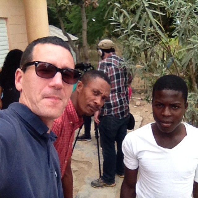 Already missing my homies in the DR (I'm the lighter one on the left doing the awkward selfie face..)