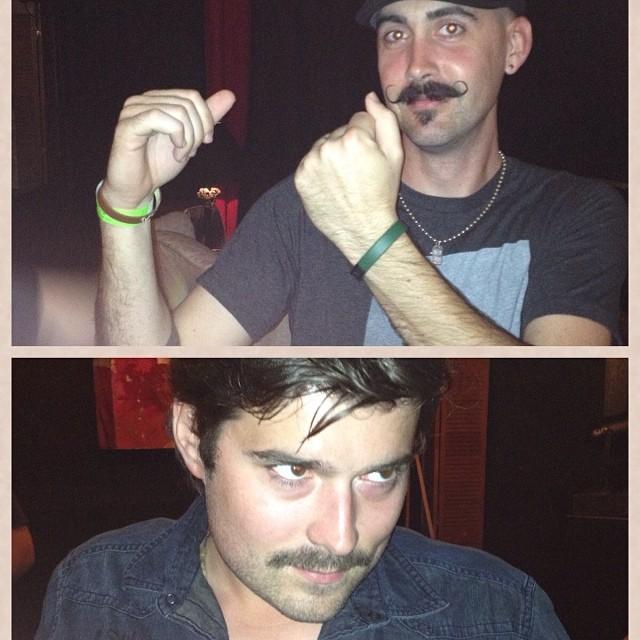 Tonight was the battle of the 'stache 1920's vs 1970's who do u think won?