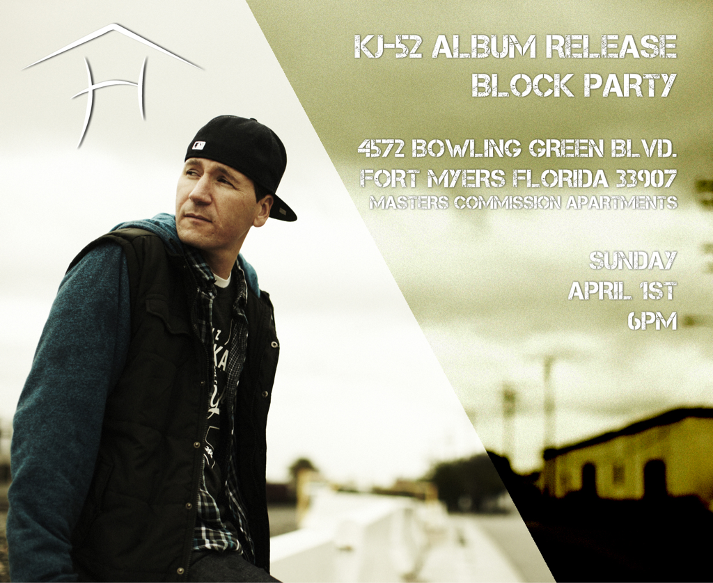 Free album release/block party Sunday April 1st @ 6pm with me! (see flyer for details)