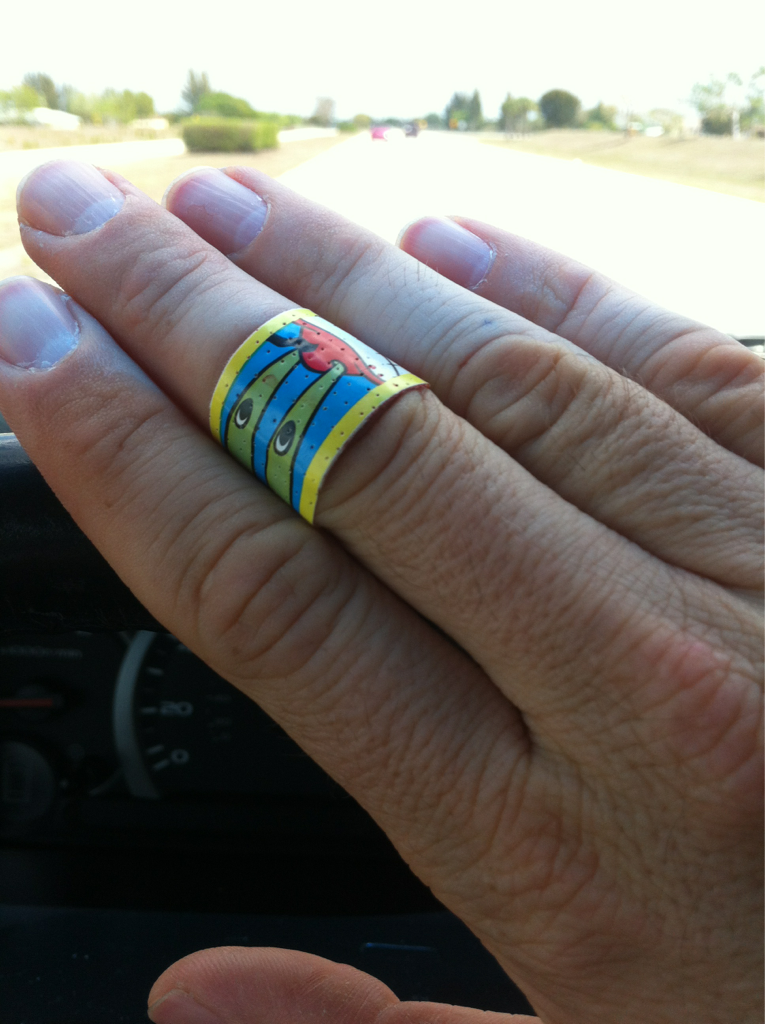 Cut my finger accidentally and now I'm rocking my sons sponge bob band aid. #thuglife