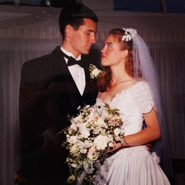 #throwbackthursday on the eve of our 16th anniversary I thought this pic would be appropriate..