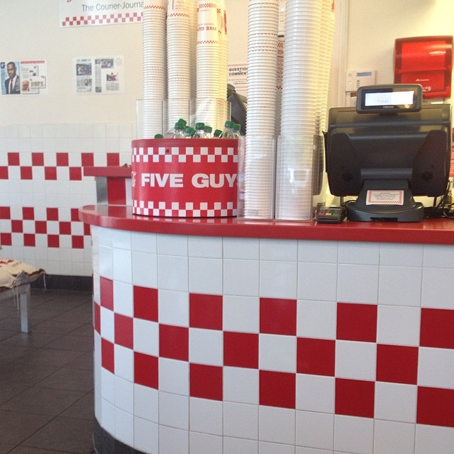Jesus is Lord and five guys is Awesome! What's your favorite burger spot?