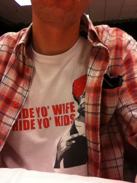 Already got multiple compliments on my shirt.. Whats up Iowa!!!