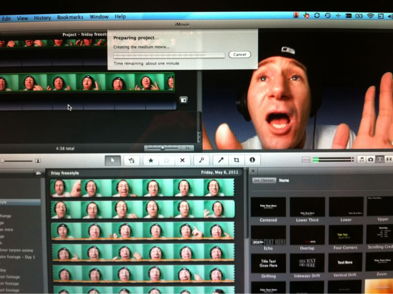 Friday freestyle uploading now! Thanks for ur patience..