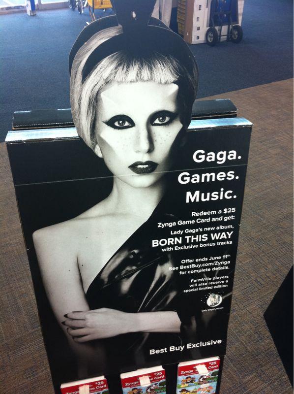 Dear lady gaga.. Madonna called she wants all her ideas back.