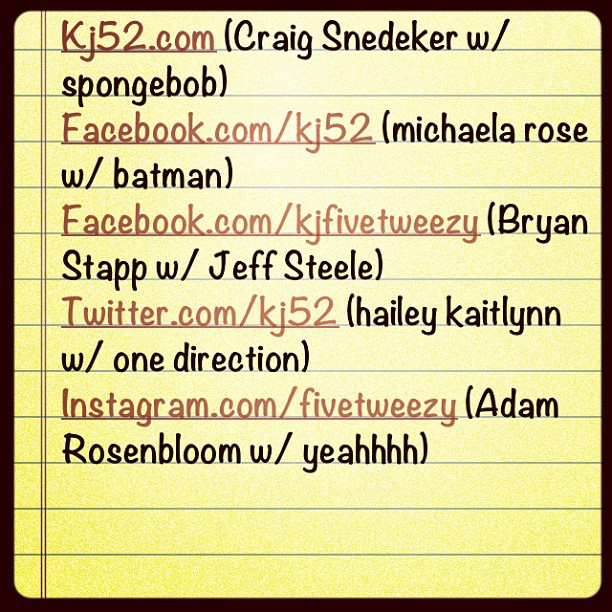 Here's my topics! Check it..