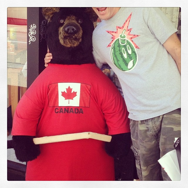 Happy Canada day to the all my Canucks aka America's hat aka the tidy north aka the 51st state aka the most politest withdrawal for independence against England the world has ever seen.