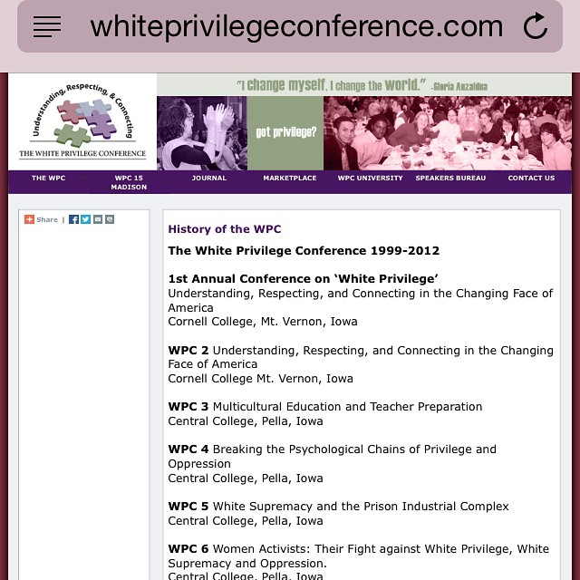 """#tbt I headlined the gospel concert of this event """"white privilege conference"""" in 2002. I had no idea why I was there ha ha .. It turned out to be a very multicultural event and had some very interesting concepts. Flash forward to 2012 when myself and @lecrae did """"they like me"""" & I really feel it summed up God's heart on race relations… What do you think tho? Is white privilege a real thing? Yes/no and why do you feel this way."""