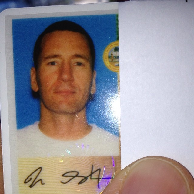 Had to get a new drivers license today & the shadow gave me a mullet.. I knew I should've gone with the duckface shot.