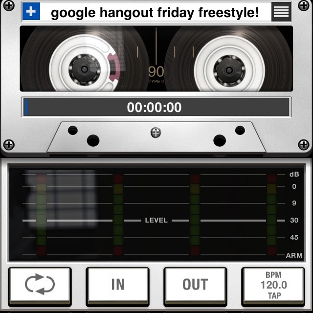 Special google hangout Friday freestyle tonight! Hit me w/ topics like usual and I'll post the google hangout link in 5 minutes where u can watch it live! Let's go…