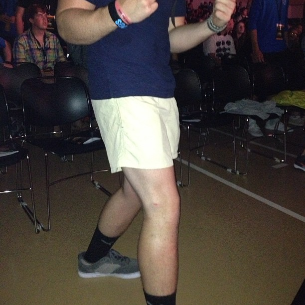 """So yeah this guy just told me """"sky's out.. Thighs out"""" yep I'm @campelectric (at Camp Electric Nashville)"""