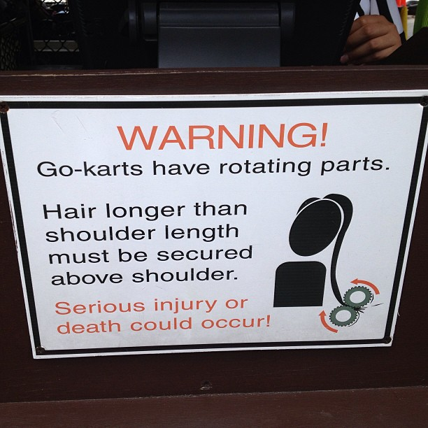 This hands down would be the worst way to go.. (at Kings Dominion)