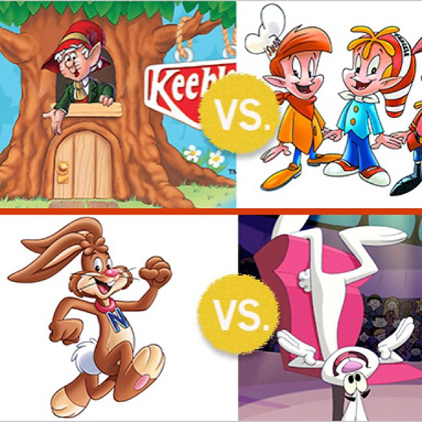 Keebler elves vs rice crispie elves in a street fight.. Who wins? State your opinion and back it up w/ facts. (My money is on the nestle quick bunny.. He's ruthless.