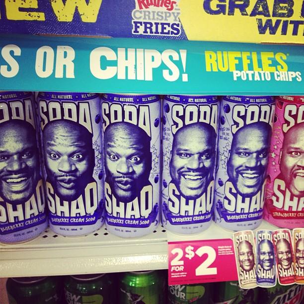 "Shaq says: ""You wanna buy my soda?"" *katt Williams voice** ""NO SHAQ.. We know it's you.."""