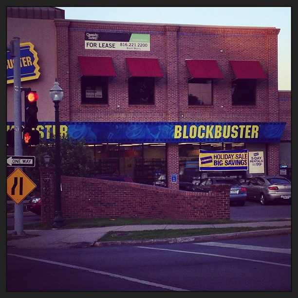 """Gather round children.. uncle tweezy will tell u the tale of blockbuster video"" (at Blockbuster)"