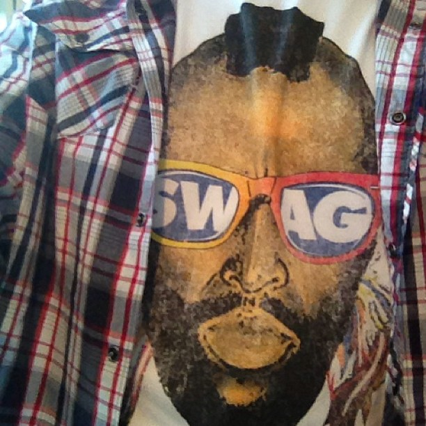 """Mr. T says """" I pity the fool that don't give kj a freestyle topic right now"""" BOOM go!"""