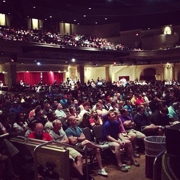 Hanging with some amazing people in youth ministry this AM at (at Hard Rock Live Orlando)