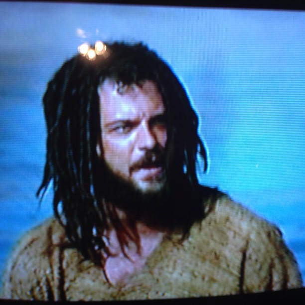 """Apparently Jon the baptist is being played by the lead singer of counting crows.. """"Mr. Jones & me?"""""""