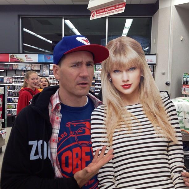 Ran into Taylor Swift @ Walgreens .. Man she was stuck up (literally) (at Walgreens)