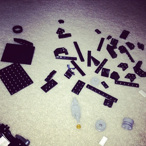 """Legos are the equivalent of going to a restaurant & them handing u eggs/sugar/milk & saying """"enjoy your cake!"""""""
