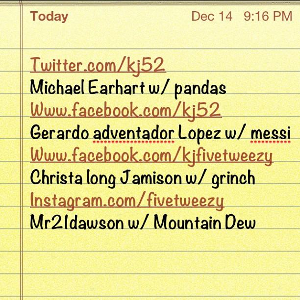 Got my topics! Here we go: mountain dew/messi/grinch/pandas