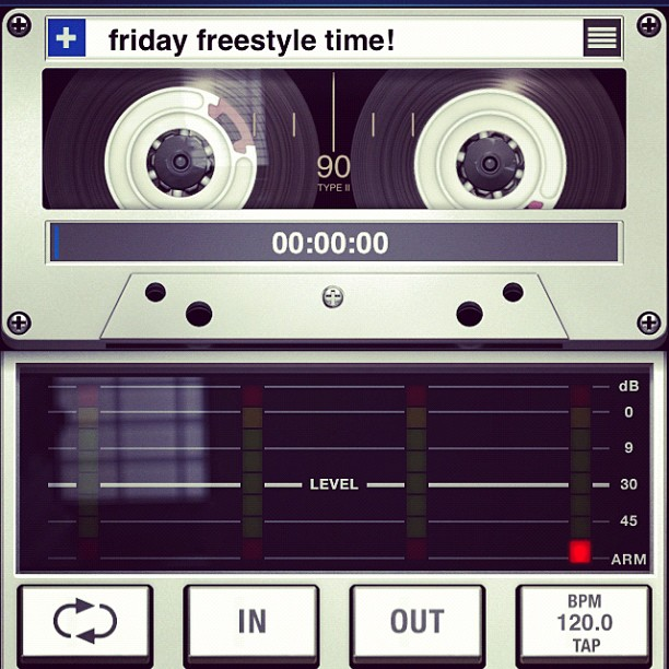 Picture says it all! Friday freestyle time is back.. I'm taking the 1st topic off each social network! Go!