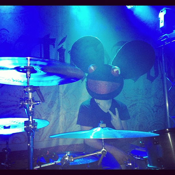 Apparently deadmau5 is playing drums 4 me tonight.. (at New Hope Church)