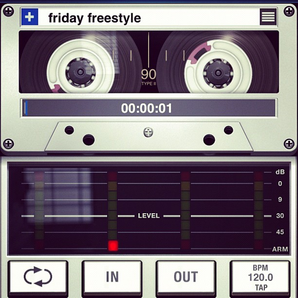 Friday freestyle time y'all! 1st topic given on each social network gets used..GO!
