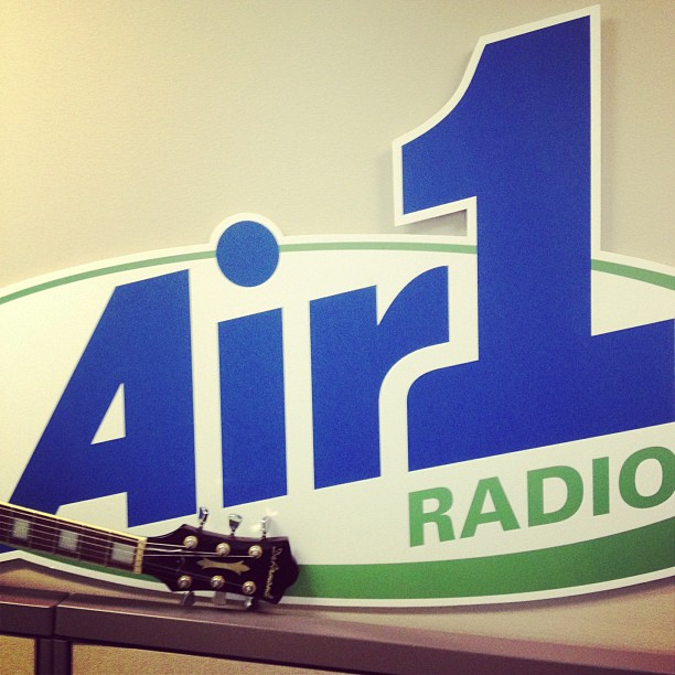 I'll be live w/ @air1brant today @ 1pm PST tune in.. I'll be taking your topics for freestyles @ some pt! (at Air1 Radio Network)