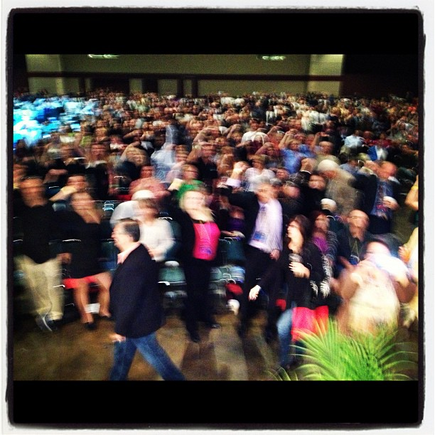 Anyday I get to make this many business people dance… I lay my head down in peace. #successseminar (at Orlando Convention Center)