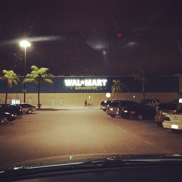 Every time I go to Walmart after 9 PM I feel like I'm doing Third World country mission work… (Taken with Instagram at Walmart Supercenter)