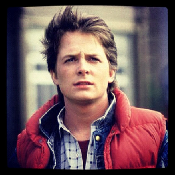 My life is complete.. I opened up for Marty McFly (Michael j fox) today. 80s baby! (Taken with Instagram at denver convention center)