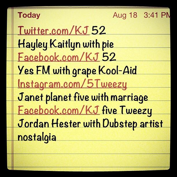 Here's my topics let's go! (Taken with Instagram)