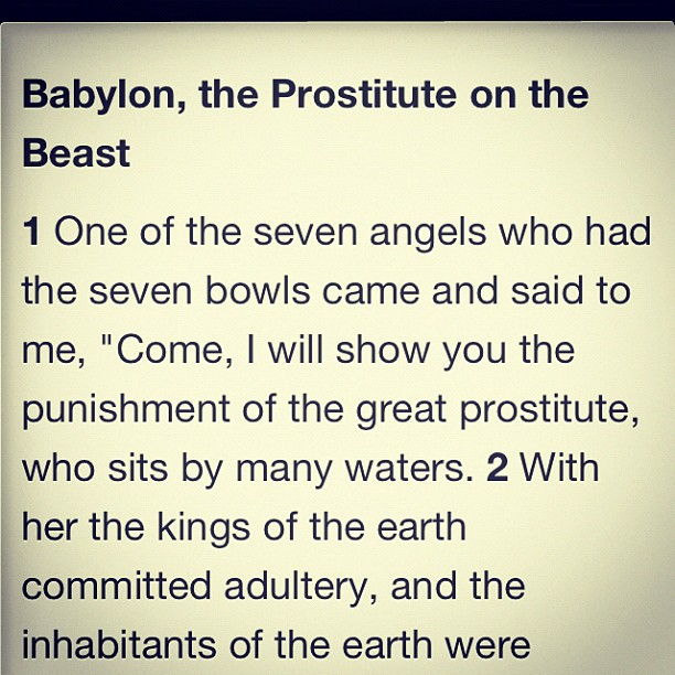 Anyone else read the book of revelation and your like uhhhhhh… (Taken with Instagram)