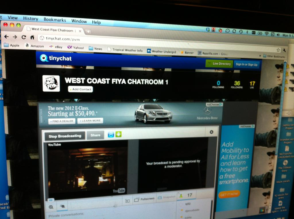 We go live in 20 minutes! Www.westcoastfiya.com hit me w/ live chat?s etc! Aaaaaahhh yeah!