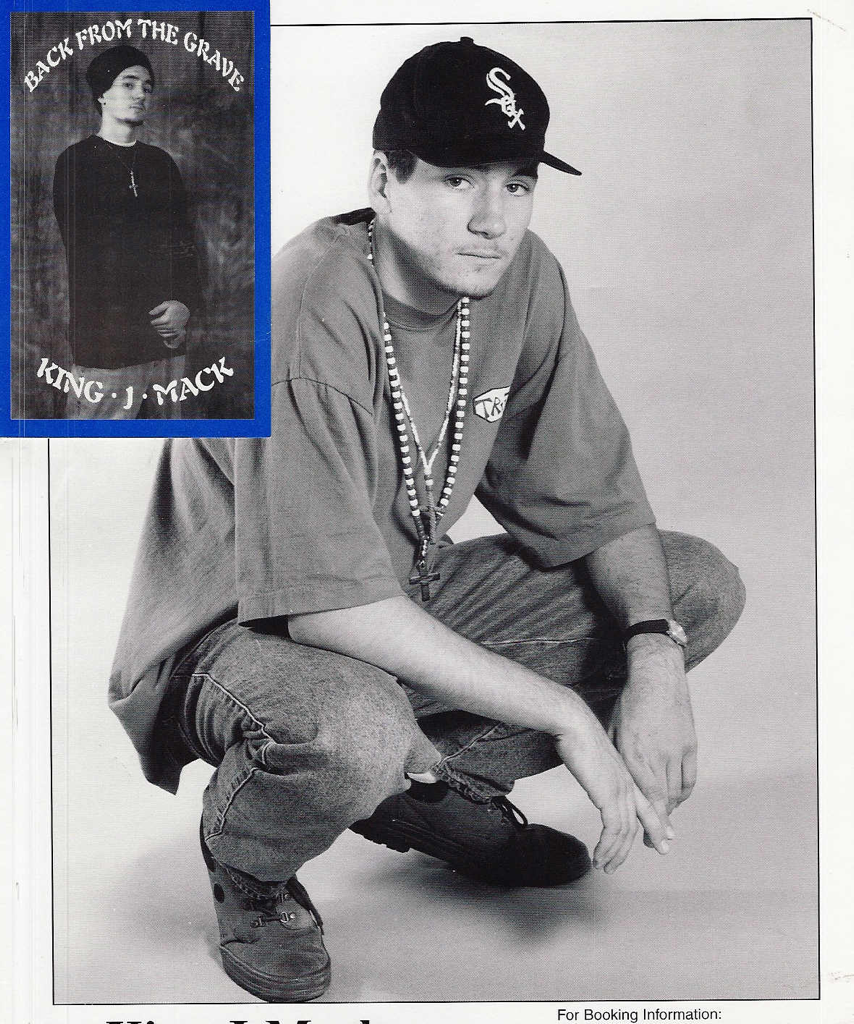 I showed @triplee116 my 1st promo pic & instead of encouraging me in the Lord he laughed @ my skinny jeans/beads/skullie & 1993 gotee.
