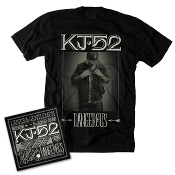 """For all those asking about pre-sales for my new album """"dangerous"""" (available 4/3) you can order it @ www.merchdirect.com/kj52"""