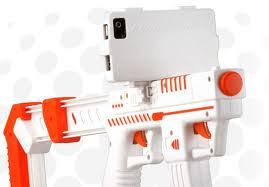 """Old guy to me: """"ur iPhone cover is pretty.. I'm holding out for the iPhone 5"""" me: """"it comes w/ a Laser gun"""" """"really? Why?"""" """"so you can shoot people…duh"""""""
