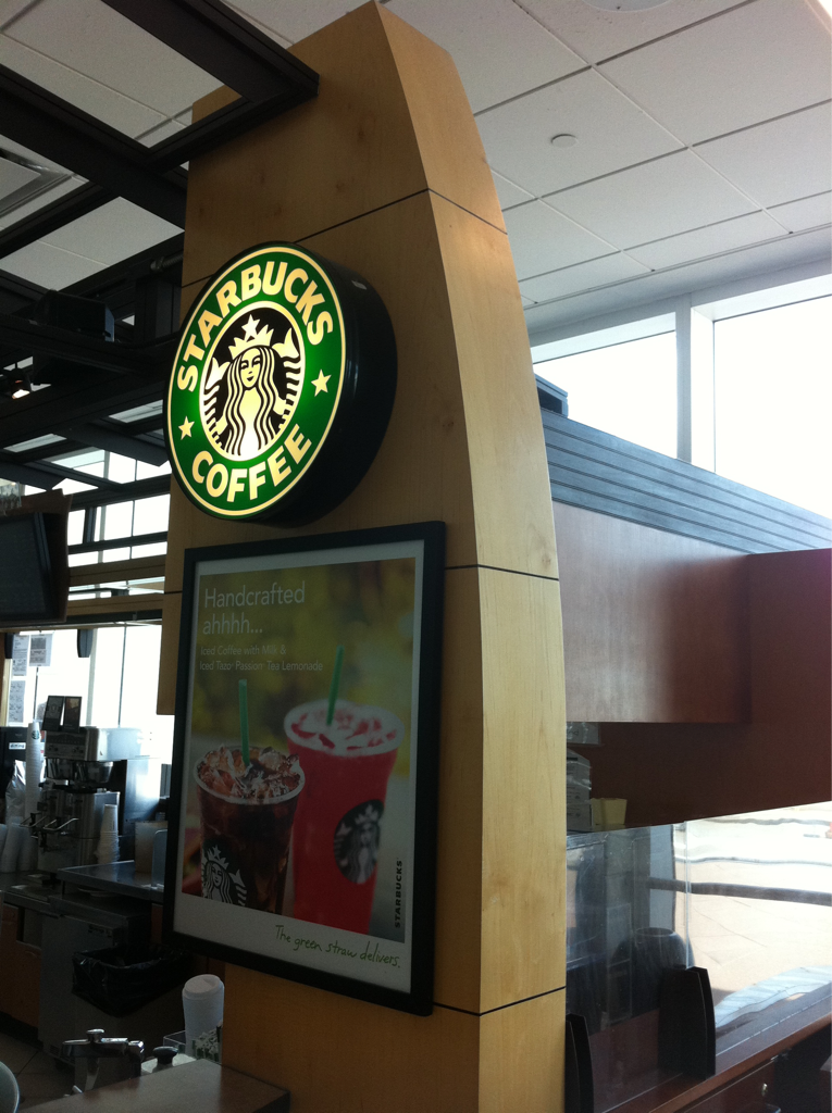 """I was just asked """"do u live here inside the airport?"""" by the Starbucks lady.. Sometimes I feel like I do!"""