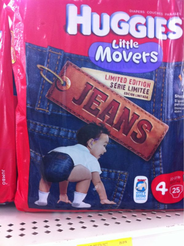Stop lying to ya babies.. You know those aint jeans! What's next jeggings?