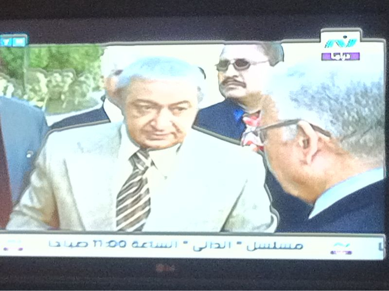 I'm watching a soap opera in Arabic on Al jazeera network.. This is either epic win or fail or a strange mix of both.