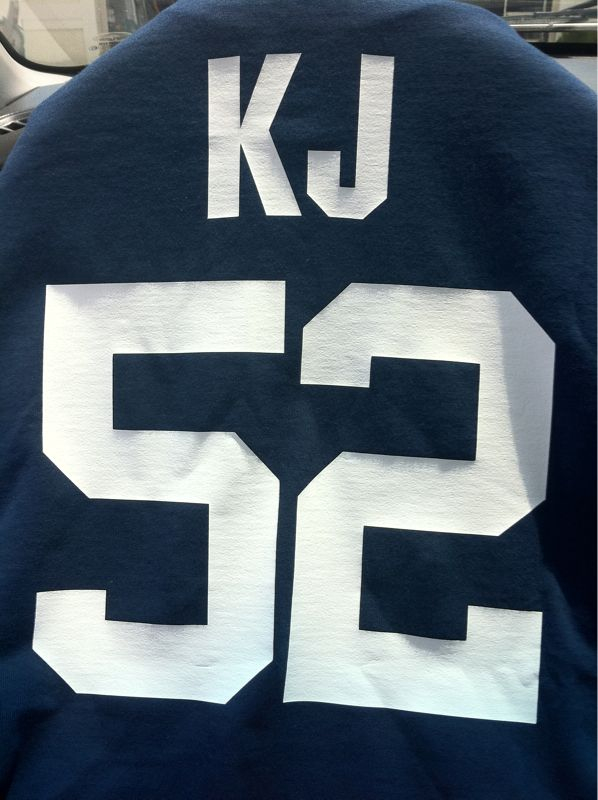 Shout out to my man Eric e. (who refuses to have a twitter) who bought me a Yankees shirt w/ my name on it..