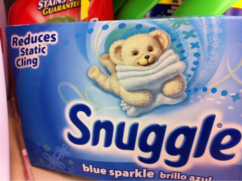 Why is the bear the symbol of all things snuggly? If u snuggled a bear in real life it would eat u..