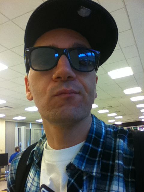 """My goal is to be """"that guy"""" on the plane who wears shades the whole flight. I plan on scaring the old people in 1st class"""