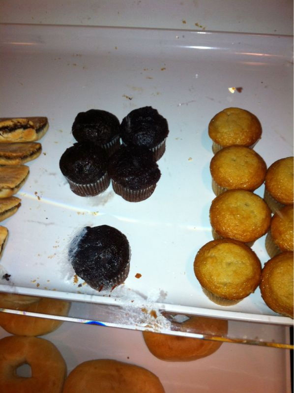 Are mini muffins simply muffins for hobbits or r they created so we can pop em like vitamins?